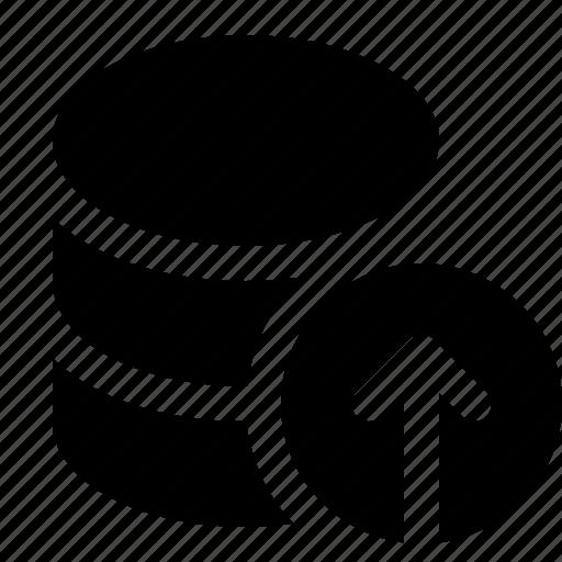 applications, base, data, database, programming, upload icon