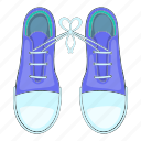 cartoon, fashion, fool, foot, joke, shoe, tied icon