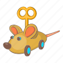 activity, animal, cartoon, clockwork, crazy, fun, mouse icon