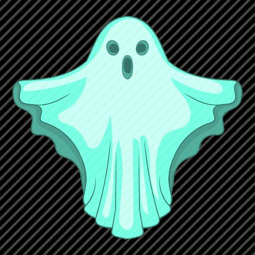 blue, cartoon, dark, fun, ghost, halloween, spooky icon