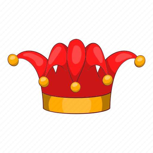 Cartoon, circus, clown, day, funny, hat, jester icon - Download on Iconfinder