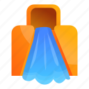 slide, party, beach, float, family, water icon