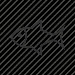 animal, fish, pet icon