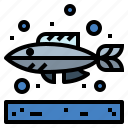 animal, fish, food, life, sea icon