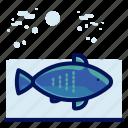 animals, aquatic, fish, nautical, ocean, wildlife icon