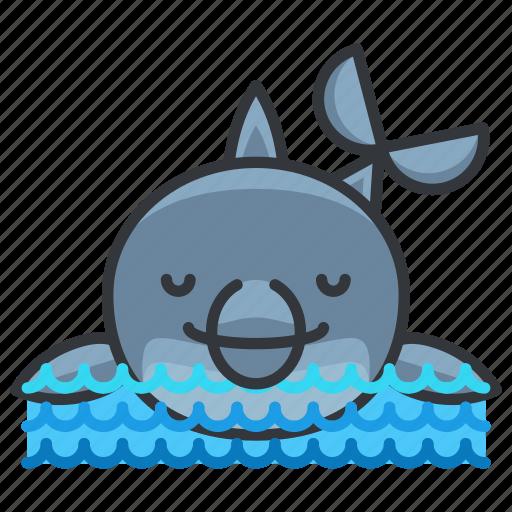 animal, aquatic, dolphin, marine, nautical, ocean, sea icon