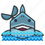 animal, aquatic, marine, nautical, predator, shark icon