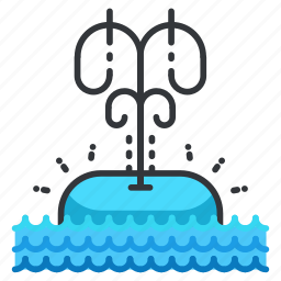animal, aquatic, marine, nautical, sea, sighting, whale icon