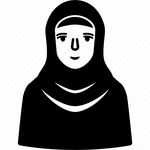 arabian, emirates, islam, kofiyah, kufi, muslim, woman icon