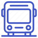 bus, car, holiday, transportation, travel, vehicle icon