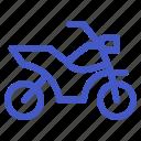 holiday, motorcycle, transportation, travel, vehicle icon