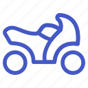 holiday, motorcycle, transportation, travel, vehicle icon