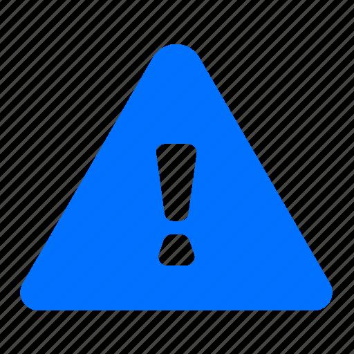alert, danger, warning icon