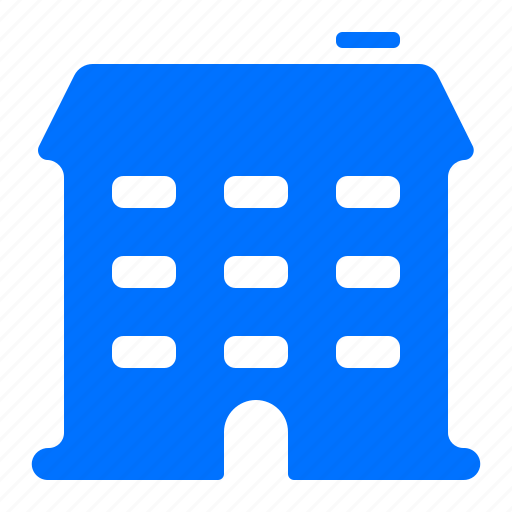 apartments, building, home, house icon