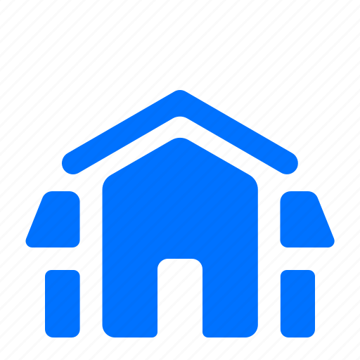 architecture, barn, building, house icon