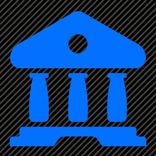 architecture, building, construction, government icon
