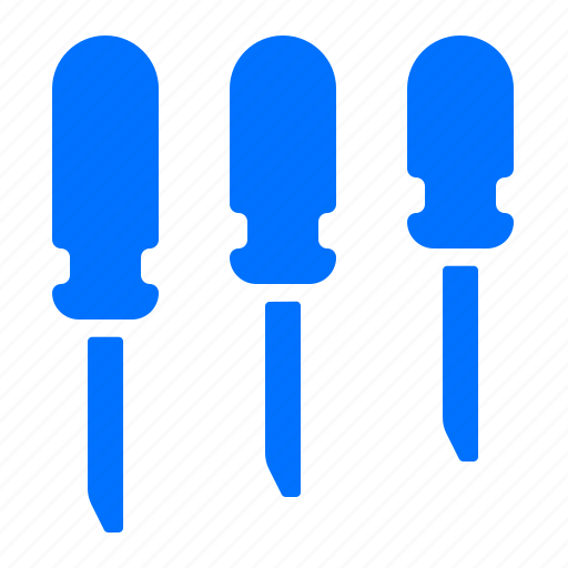 construction, screwdriver, screwdrivers, tool icon