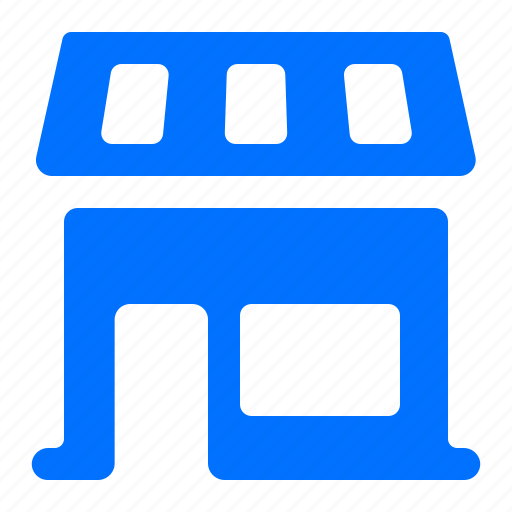 architecture, building, shop, store icon