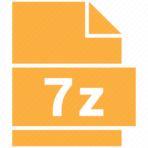 7z, archive file format, extension, file, file format icon