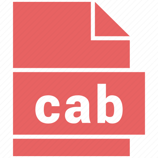 archive file format, cab, document, file, file format icon