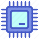 chip, computer, electronic, micro, processor, tech, technology icon