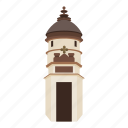 cartoon, clear, coast, lighthouse, nautical, search, tower icon