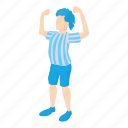 america, brazil, cartoon, football player, national, soccer icon