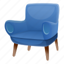armchair, child, family, father, love