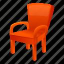 armchair, fashion, retro, vintage, wood