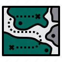 army, map, military, soldier, weapon icon
