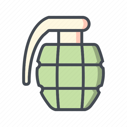 army, bomb, grenade, military icon