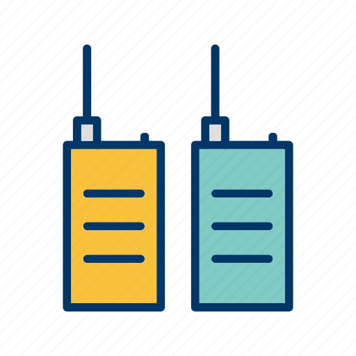 communication, phone, transceiver, walkie talkie icon