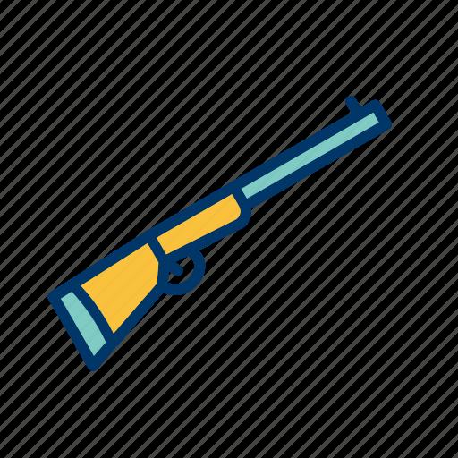 rifle, shotgun, weapon icon