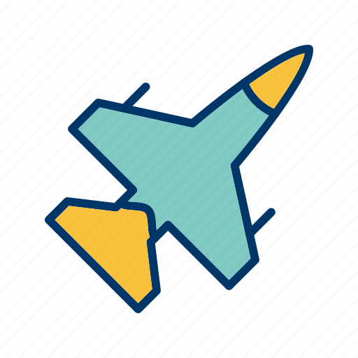 aeroplane, aircraft, airplane, jet icon