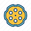 bullet, chamber, fire, gun, revolver icon