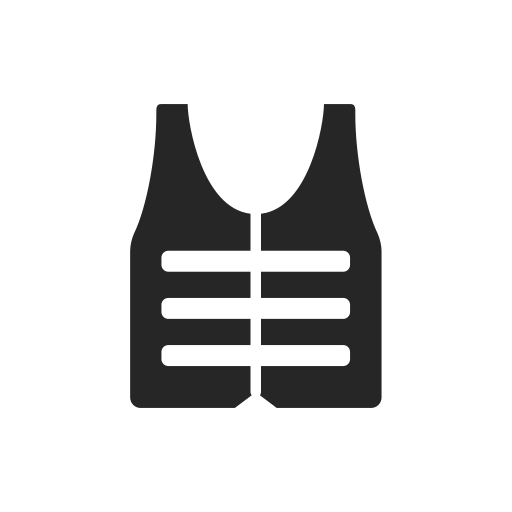 army, front, jacket, military, safe icon