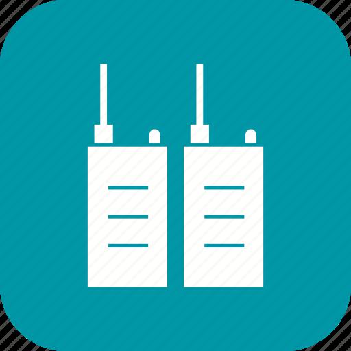 phone, transceiver, walkie talkie icon