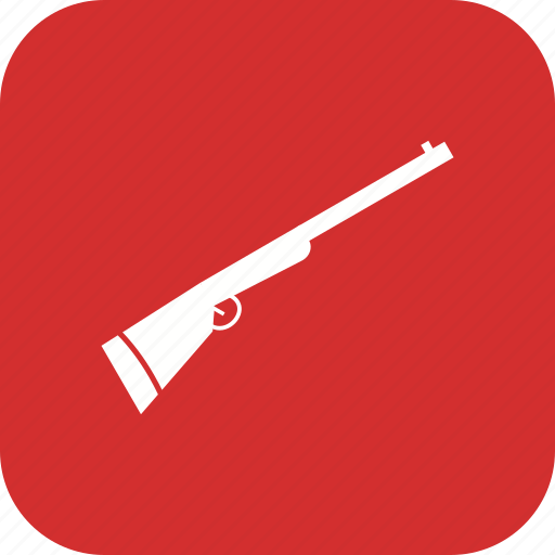 gun, rifle, shotgun, weapon icon