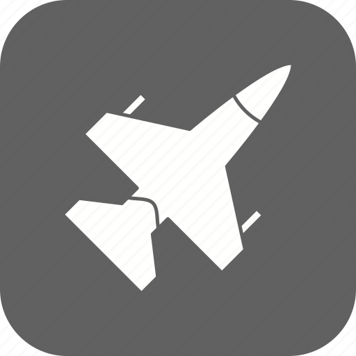 aircraft, airplane, jet icon