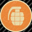 army, bomb, grenade icon