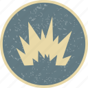 blast, bomb, explosion, nuclear icon