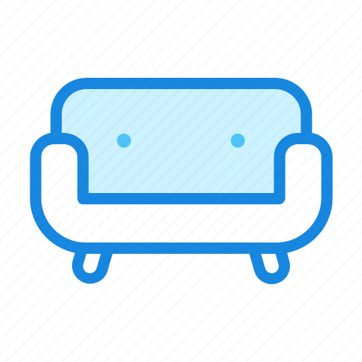 couch, furniture, interior, living room, sofa icon