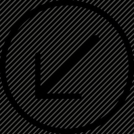\, arrow, arrows, direction, navigation, orientation icon