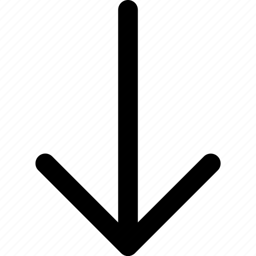 arrow, arrows, direction, download, navigation, orientation icon