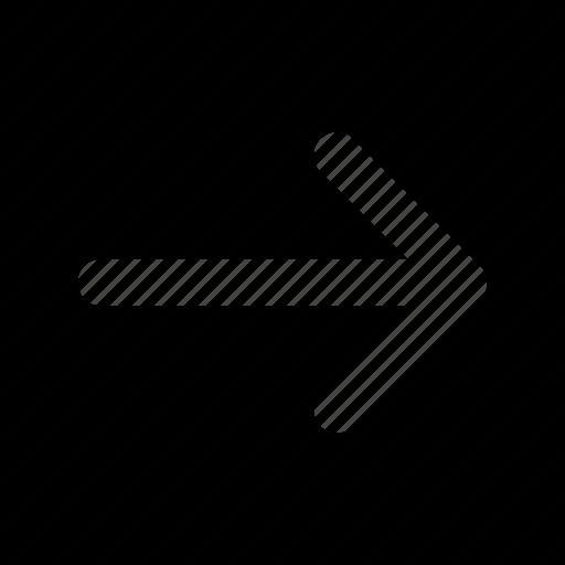 arrow, arrows, direction, navigation, orientation, right icon