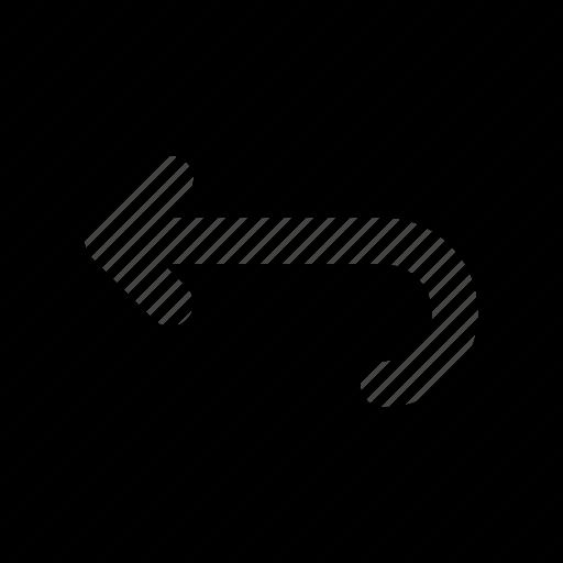 arrow, arrows, direction, navigation, orientation, rewind icon
