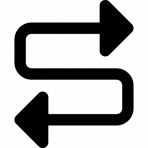 Arrow, arrows, direction, navigation, orientation icon - Download on Iconfinder