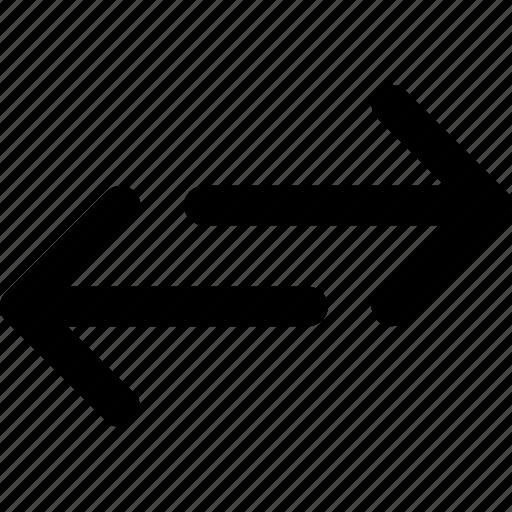 arrow, arrows, direction, navigation, orientation, receive, send icon