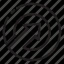 arrow, arrows, circle, circular