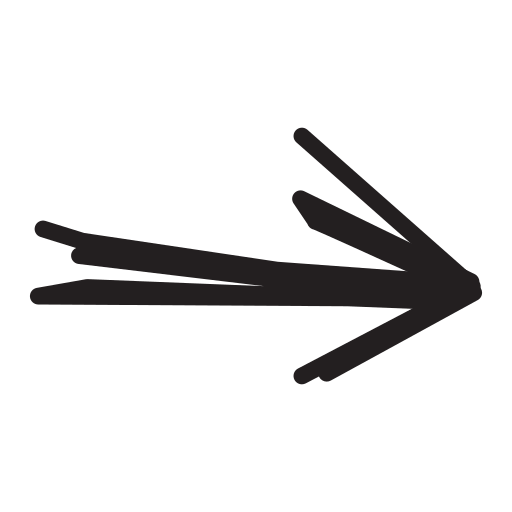 arrow, left, mediuem, pencil icon